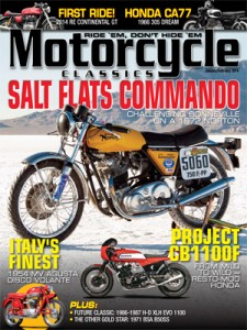 Motorcycle Classics mag