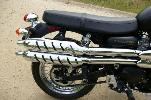 1-Triumph Scrambler - pipes