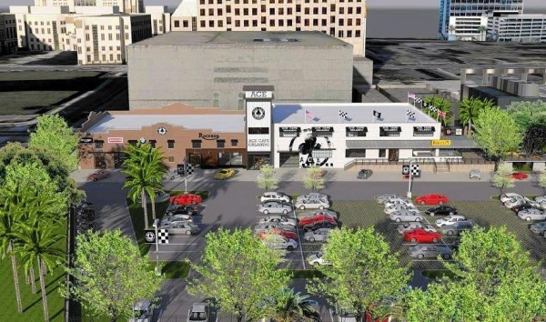 Ace Cafe - Orlando rendering