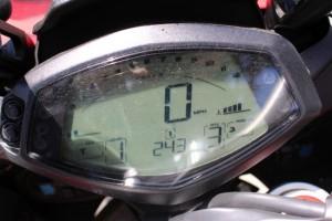 1-Aprilia Caponord - gauges