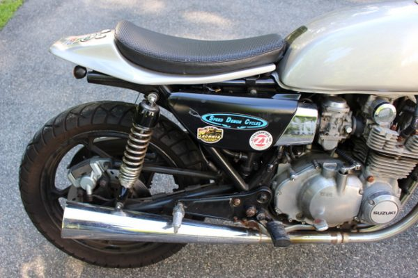 suzuki gs650 is newman's own - ride ct & ride new england
