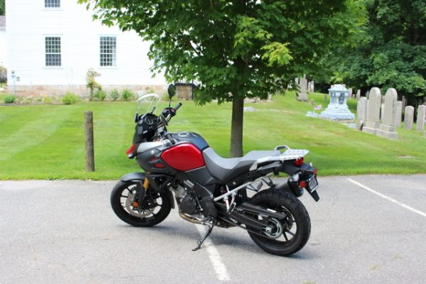 1-V-Strom 1000 with headstones