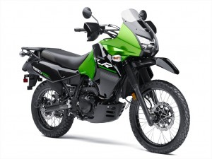 KLR650 right front