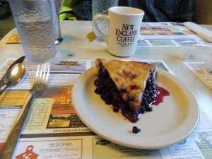 Moody's Diner - blueberry pie