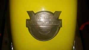 1954 Harley-Davidson - medallion