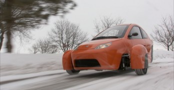 ELIO in snow