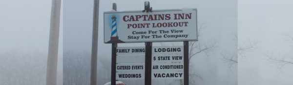 Point Lookout sign