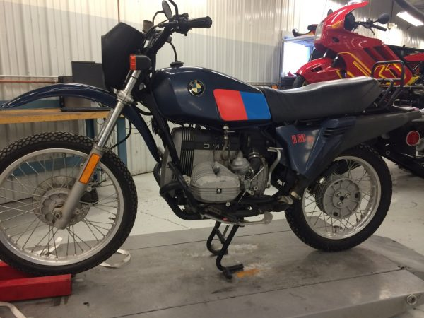 Max BMWs Basement Find R80 GS  Ride CT  Ride New England