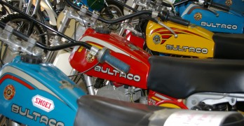 Bultaco museum - tight