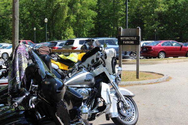 Gillette motorcycle parking