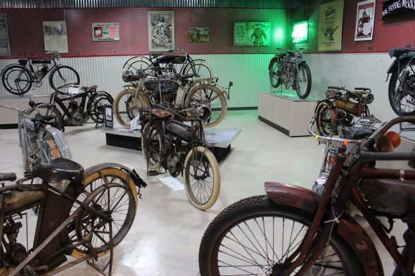 Group of bikes