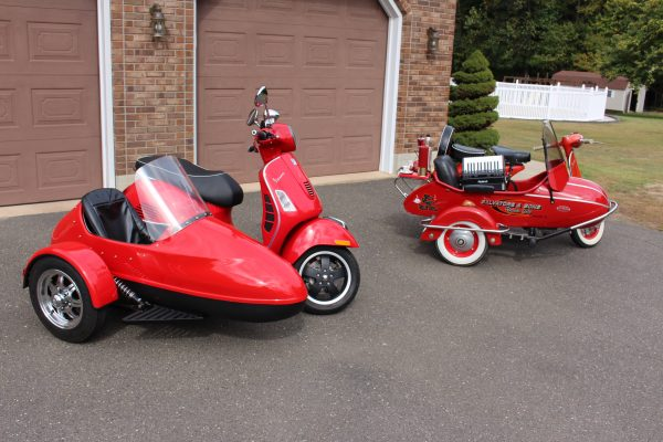 Scooters with sidecars