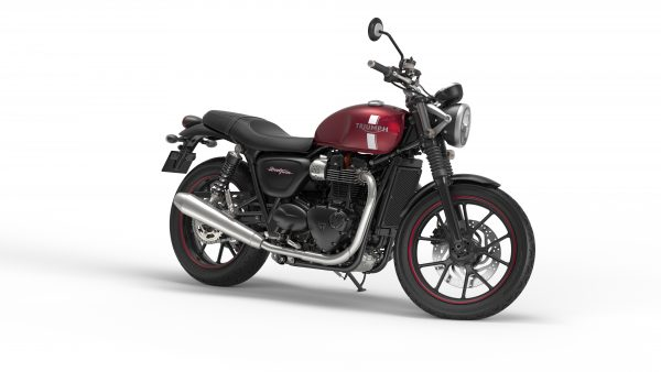Street Twin - cranberry - right front