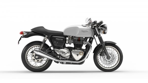Thruxton 1200 - white right side