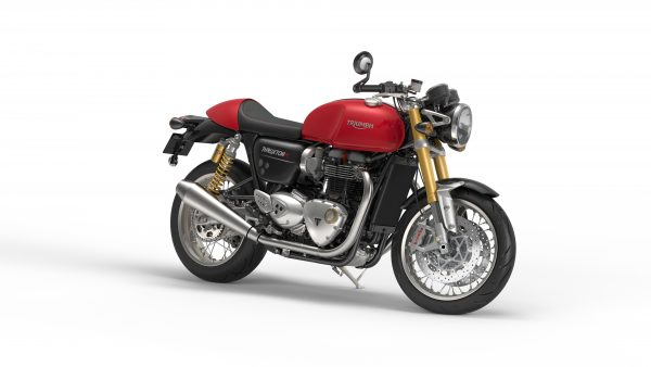Thruxton R - red right front