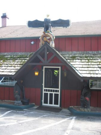 Backwater Grille - front