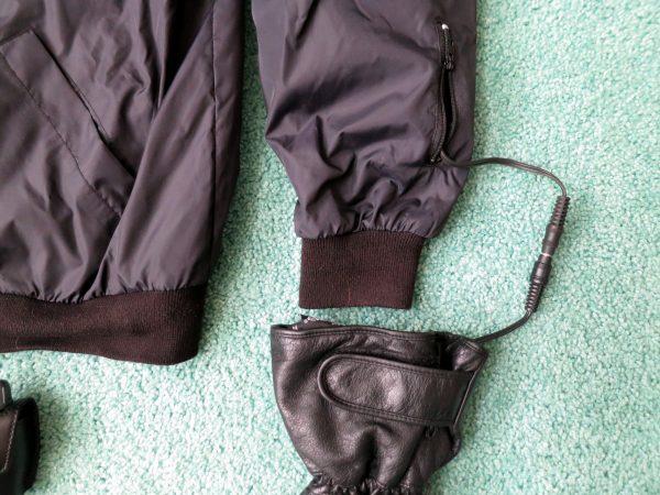 Heated gear - glove and cuff