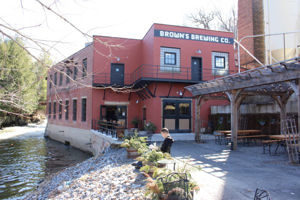Brown's Brewery - exterior