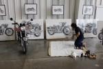 Makoto Endo Creates Motorcyle Art