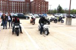 Ruckus At Blue Devil Riders Show