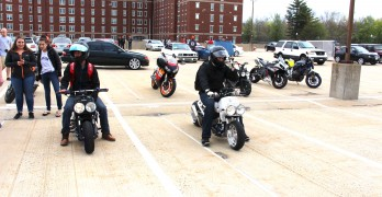 Ruckus At Blue Devil Riders Show