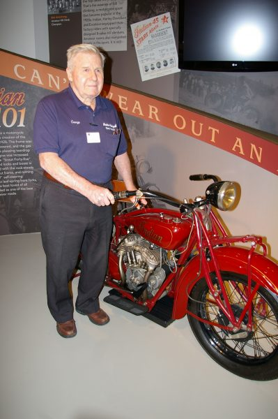 George Yarocki and 1929 Indian 101 Scout