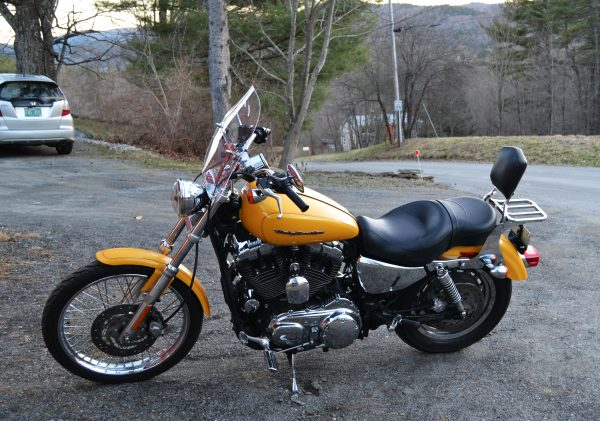 Bob Furman's Sportster - left