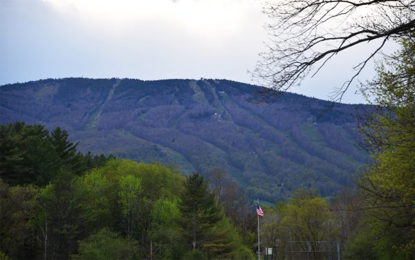 Okemo Mountain from pasture of former family farm
