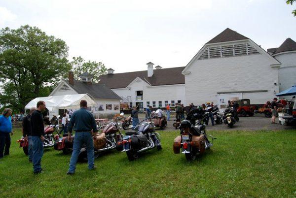 Barn with bikes