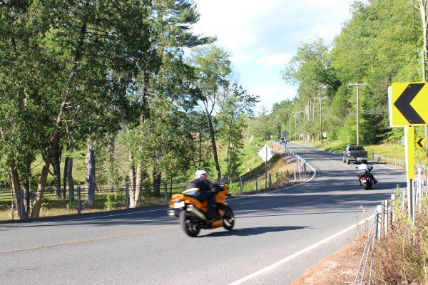 Bikes on Route 219