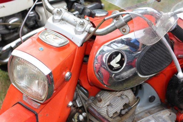 Honda headlamp and tank