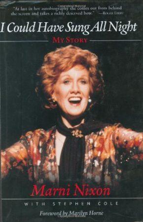Marni Nixon book cover