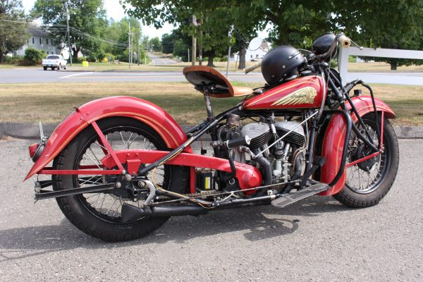 Tom Parkers 1937 Indian Scout
