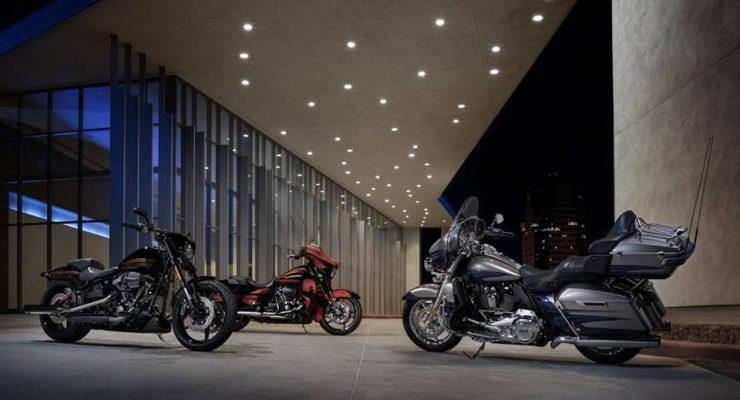 2017 Harley-Davidson CVO lineup