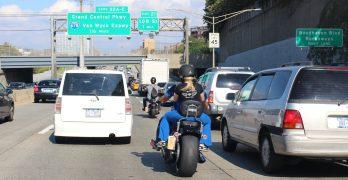 California Legalizes Lane-Splitting