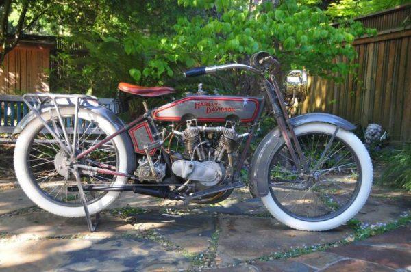 Denis Sharon's 1916 Harley-Davidson