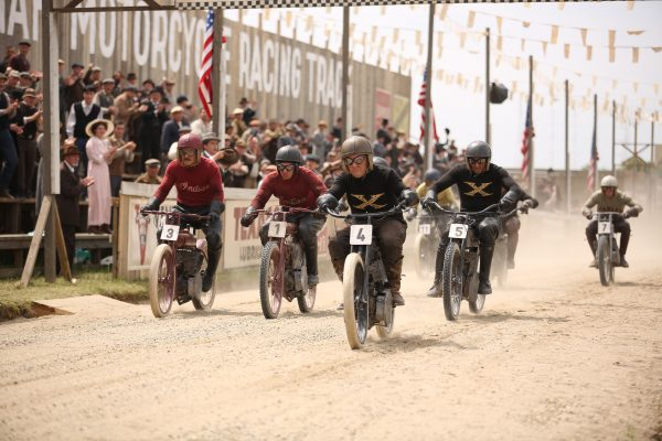 Harley and the Davidsons race