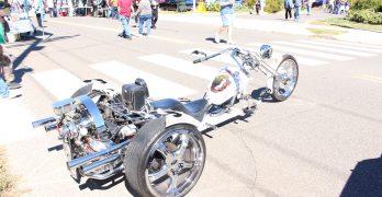 Custom Trike Keeps Flammia On Road