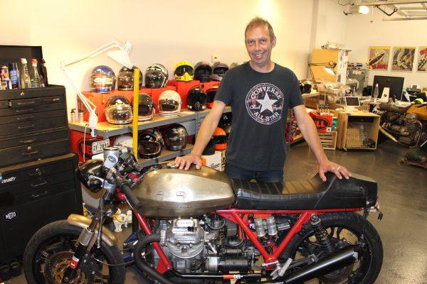 Antony Katz and the 1979 Moto Guzzi SP1000