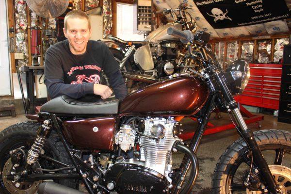 Eric Pleil and 1980 Yamaha XS650